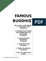 Famous Buddhist Figures
