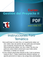 F.1 Gestion Proyectos II- Foro Video Clips (2)