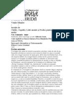 Sfantul Nicolae Proloagele Vol. 1