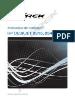 Instructivo Instalacion 2515 3515
