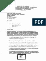 5 7 07 0204 13755 CBX Dr. Douglas Tucker MD Clinical Assessment of Coughlin Ocr