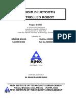 Bluetooth Robot