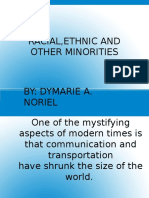 Racial,Ethnic and Other Minorities