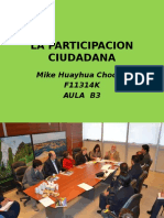 La Participacion Ciudadana Power Point