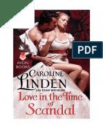 Caroline Linden Iubiri Si Scandaluri