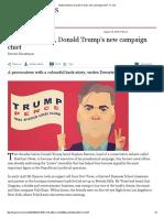 Stephen Bannon, Donald Trump's New Campaign Chief - FT