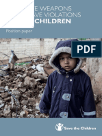 Explosive Weapons and Grave Violations Against Children