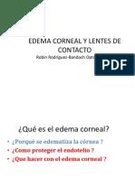 Edema Corneal y l.c. 3 1