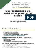 Rol Subsidiario 2016