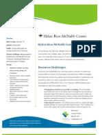 Helen Ross Mcnabb Case Study