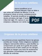 Historia de La Prosa Castellana