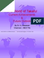 Alhuda CIBE - The World of Takaful by Dr. S. J Malaikah