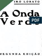 A Onda Verde - Monteiro Lobato