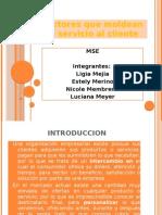 FACTORES DEL SERVICIO