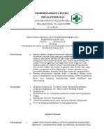 8.4.1.a SK Standarisasi Kode Klasifikasi Diagnosis Dan Terminologi