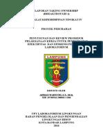 Kesepakatan Area (Laporan BT1)