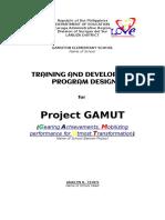 Gamuton Es Project Gamut