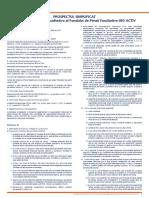 Prospectul Schemei de Pensii Facultative NN ACTIV Simplificat (Vechi)