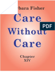 Care Without Care (Chapter XIV)