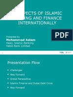 Alhuda CIBE - Prospects of Islamci Banking by Muhammad Aslam
