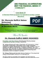 Alhuda CIBE - Islamic Financial Co-operatives by Rafiq Nabi Mohamad