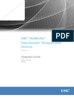 NetWorNetWorker v8 Data Domain Deduplication Devices Integration Guideker v8 Data Domain Deduplication Devices Integration Guide