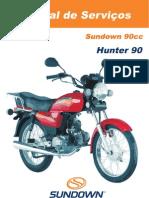 Manual de Serviços - Hunter 90cc