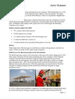 Ratio Analysis of Shell Pakistan Limited - Royal Dutch Shell