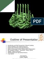 Alhuda CIBE - Presentation on Agriculture Finance by Zubair Mughal