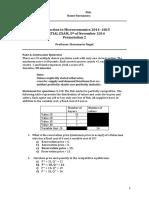 Exam Microeconomics Examenparcial2014 Eng p2 Sol