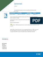 EMC NetWorker Fundamentals - Prod Ver Desc