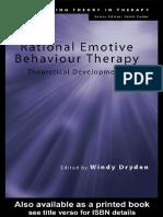 [Windy Dryden] Rational Emotive Behaviour Therapy