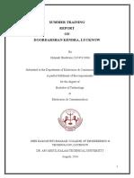 Doordarshan Kendra, Lucknow Report