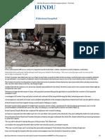 40 Killed, 50 Injured in Pakistan Hospital Explosion - The Hindu