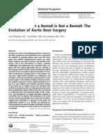 Bentall-De Bono Revisión Histórica