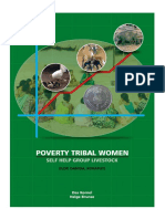 Poverty Tribal Women Self Help Group Livestock