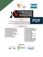 Programa Completo Congreso Peronismo