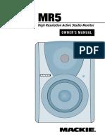 Mr5 Manual