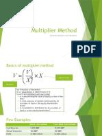 Multiplier Method-2015.pptx