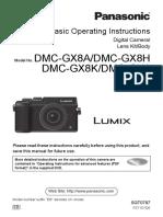 DMC GX8 Basic Operating Manual