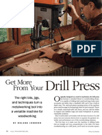 Drill Press - Fine Woodworking 182-2