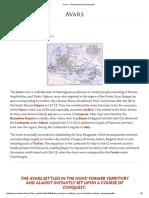 Avars - Ancient History Encyclopedia