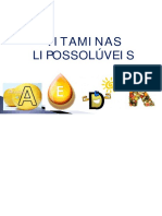 VITAMINAS LIPOSSOLÚVEIS