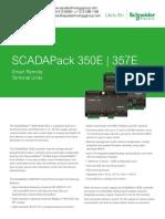 SCADAPack350E 357E E Series Datasheet