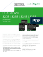 SCADAPack 330E 333E 334E 337E E Series Datasheet