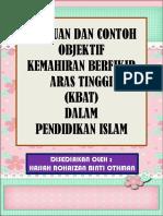 Panduan dan Contoh Objektif KBAT dalam Pendidikan Islam