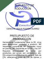 Diapositivas Presupuesto de Produccion