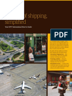 UPS Intl Shipping How-To Guide