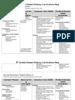 global curriculum map 13-14