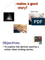 What Makes a Good Story year 10